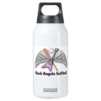 rock angels softball 10 oz insulated SIGG thermos water bottle