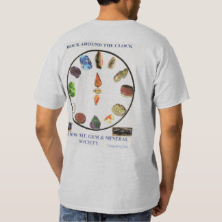 Rock around the Clock - Designed by Dar T Shirt