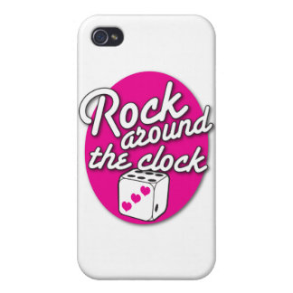 ROCK around the Clock iPhone 4 Cover