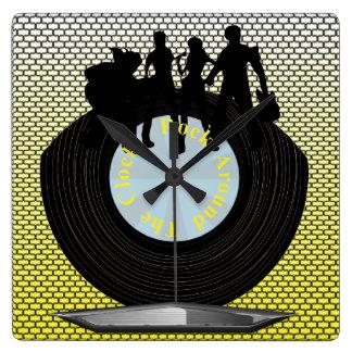 Music Theme Wall Clocks Zazzle
