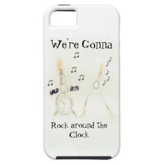 ROCK AROUND THE CLOCK SAMSUNGGALAXYS3iPHONECASE iPhone SE/5/5s Case