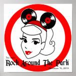 Rock Around The Park 2010 canvas print