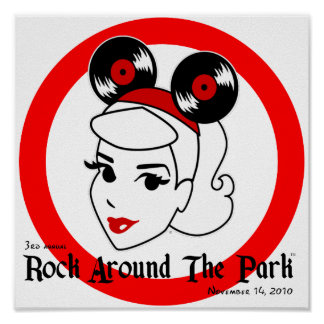 Rock Around The Park 2010 poster