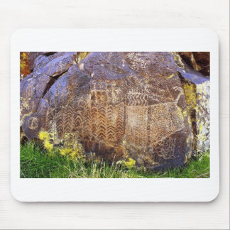Rock Art Archaic Template Mouse Pad