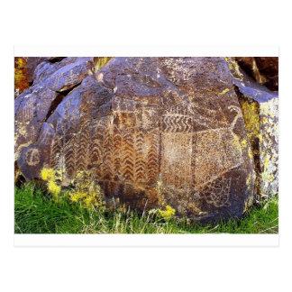 Rock Art Archaic Template Postcard
