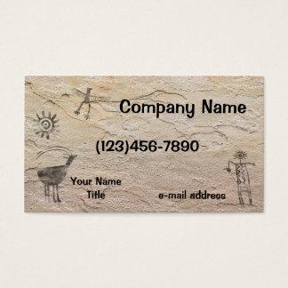 Rock Art Business Card