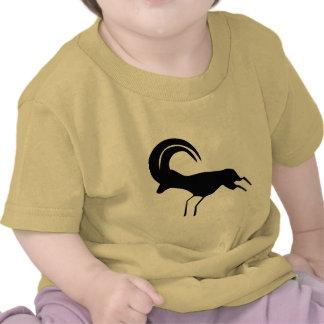 Rock Art Saharan Antelope T-shirts