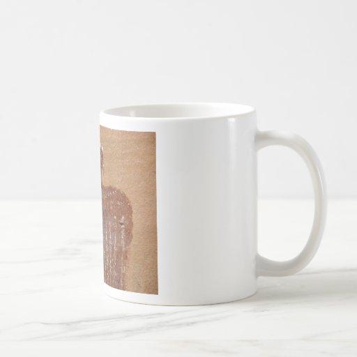 Rock Art Template Classic White Coffee Mug