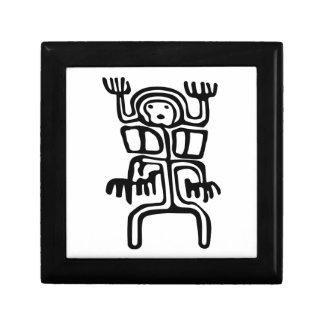 """Rock Art"" Wood Gift Box"