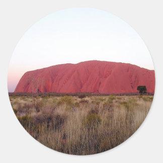 Rock Ayres Rock Classic Round Sticker