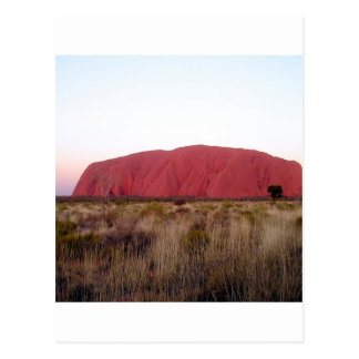 Rock Ayres Rock Postcard