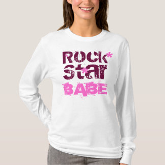 Rock, BABE, Star, *, *, * T-Shirt