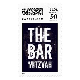 Rock Band Bar Mitzvah Stamp