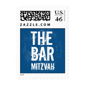 Rock Band Bar Mitzvah Stamp, Small