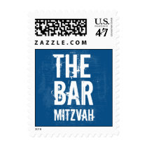 Rock Band Bar Mitzvah Stamp, Small Postage