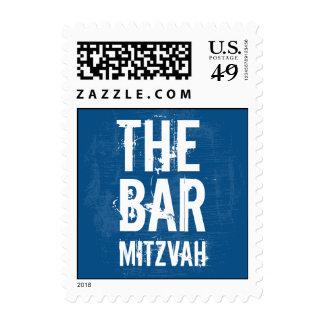 Rock Band Bar Mitzvah Stamp, Small Stamp