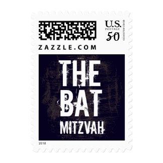 Rock Band Bat Mitzvah Stamp Small