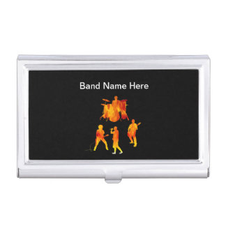 Rock Band Business Card Cases
