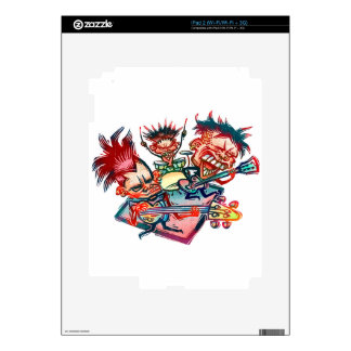 Rock Band Decal For The iPad 2