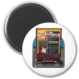 Rock Band Guitar Truck Fridge Magnets