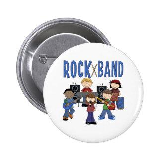Rock Band Kids Gift Pins