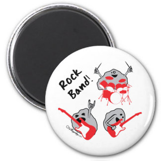 Rock Band Magnets