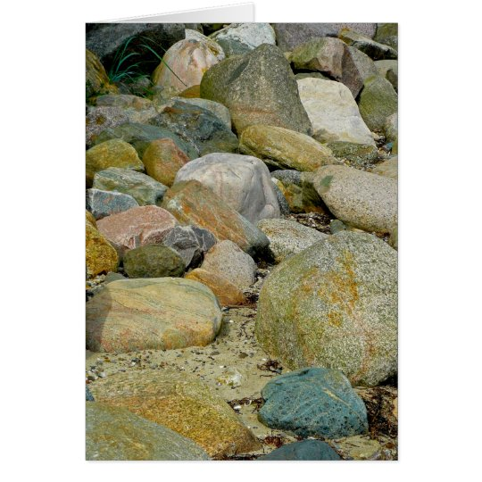 Rock Bed Card