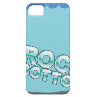 Rock Bottom Hitting words design iPhone SE/5/5s Case