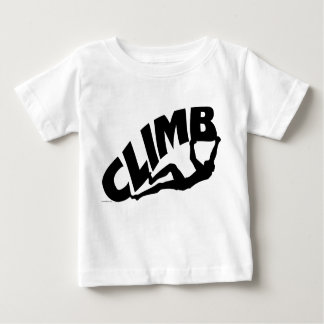 Rock Bouldering Baby T-Shirt