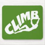 Rock Bouldering Mouse Pad