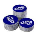 Rock Bouldering Set Of Poker Chips