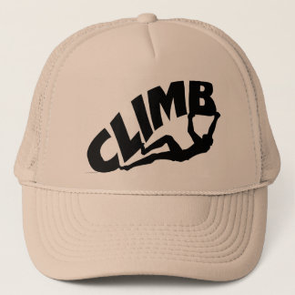Rock Bouldering Trucker Hat