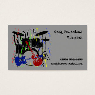 Rock Business Card