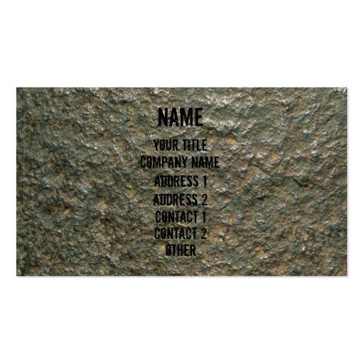 Rock Business Card