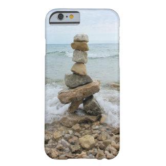 Rock Cairn (Pillar) - Mackinac Island, Michigan Barely There iPhone 6 Case