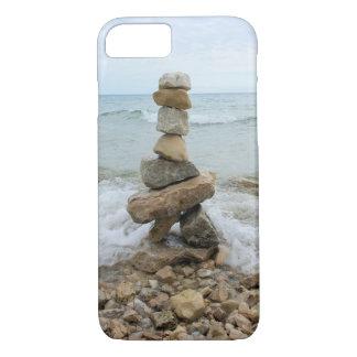 Rock Cairn (Pillar) - Mackinac Island, Michigan iPhone 8/7 Case