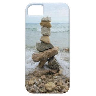 Rock Cairn (Pillar) - Mackinac Island, Michigan iPhone SE/5/5s Case