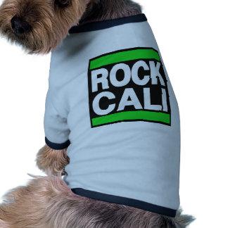 Rock Cali Green Doggie Shirt