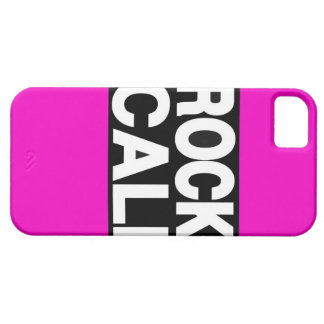 Rock Cali Long Pink iPhone SE/5/5s Case