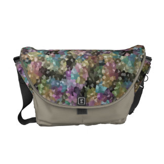 Rock Candy Muted Tones Courier Bag