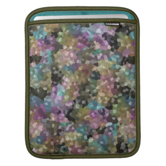 Rock Candy Muted Tones iPad Sleeve