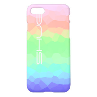 Rock Candy Rainbow Light Colored Multicolored Shug iPhone 8/7 Case