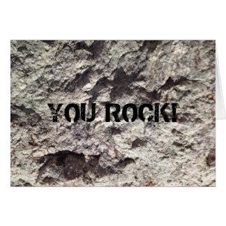 ROCK CARD