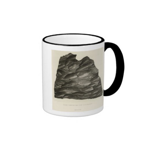 Rock carved by the Colorado Ringer Coffee Mug