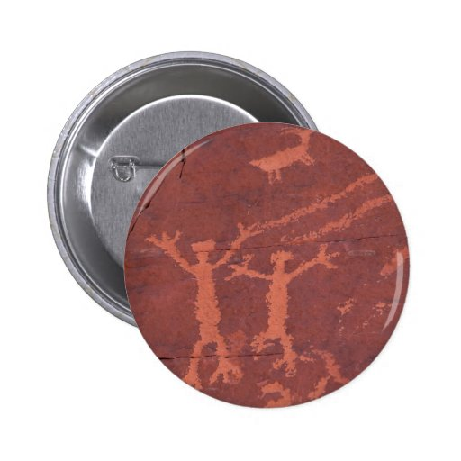 Rock Carvings In Valley Of Fire State Park 2 Inch Round Button