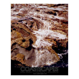 Rock Cascade (Branded Version) Poster