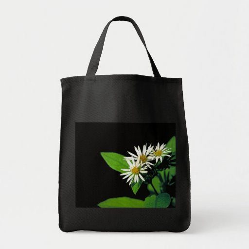 Rock Castle Aster Grocery Tote Bag