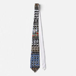 Rock Center Refracted on your tie.... Neck Tie