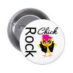 Rock Chick 2 Inch Round Button