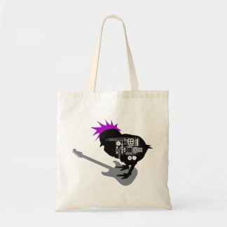 Rock Chick Budget Tote Bag
